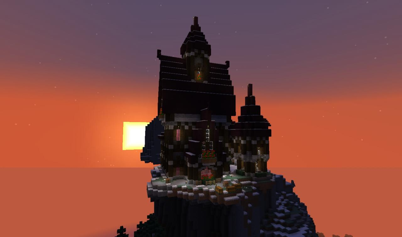 Mountain Castle | Survival Minecraft Project