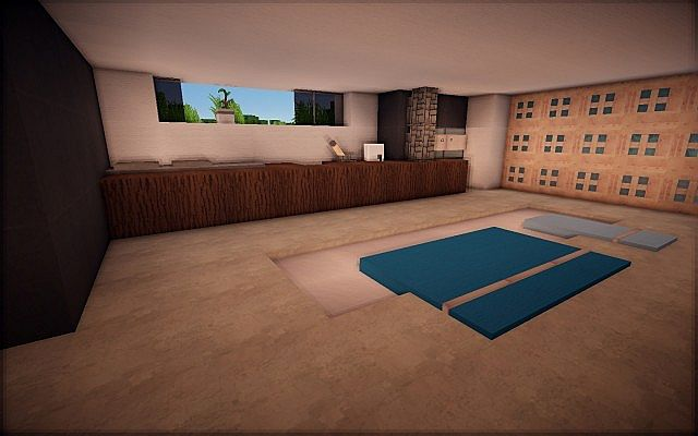 Mirrored modern duplex ft frore minecraft project for Duplex project