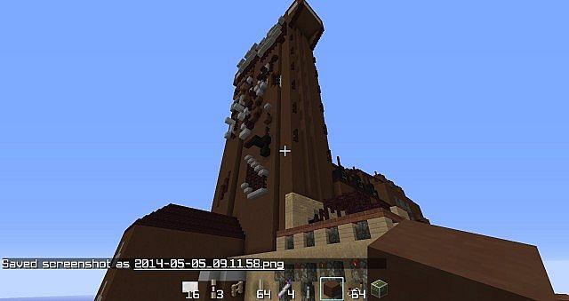 Disney World Minecraft Project
