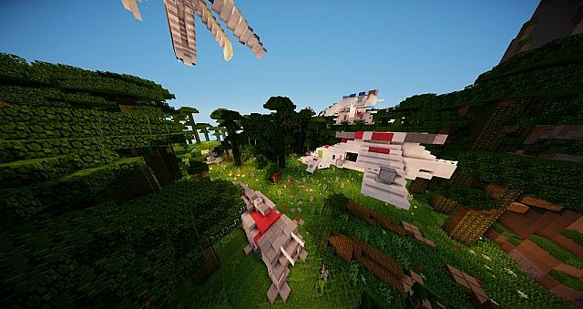 Minecraft Adventure Map   Star Wars The Clone Wars Minecraft Project