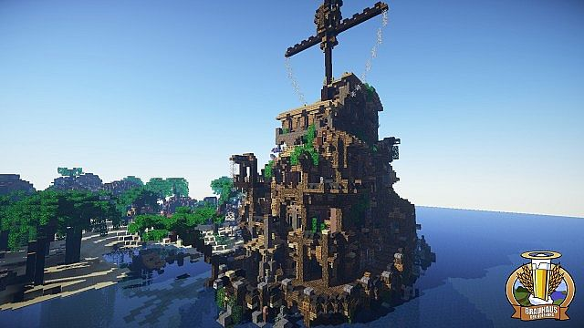 Pirate Tavern Server Spawn Minecraft Project