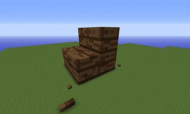 how to build stairs on minecraft