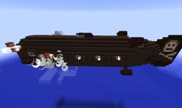 Submersible Pirate Airship - The Shadow of the Deep Minecraft