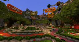 MCGamer Network Hub #2 Minecraft Map & Project