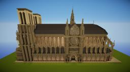 Cathedral inspired by Notre Dame Minecraft Map & Project
