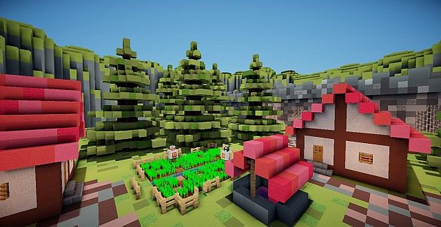 Projection Mapping Cubes Cube World Pvp Map by Barskey