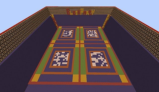 Block Party Arena Minecraft Project