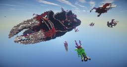 Deep Space - Zerg Mothership Minecraft Map & Project