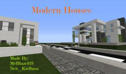 Modern Houses|MrBlaze123| Minecraft Map & Project