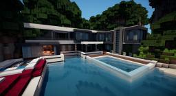 Beach House + Speedboat Minecraft