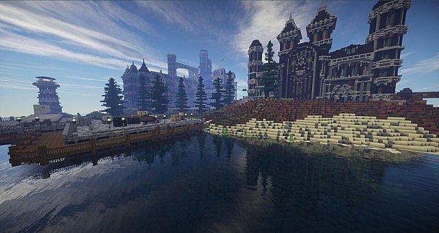 Starter Prison, Main Prison  Docks