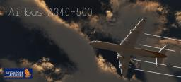 Airbus A340-500 Singapore Airlines Minecraft Map & Project