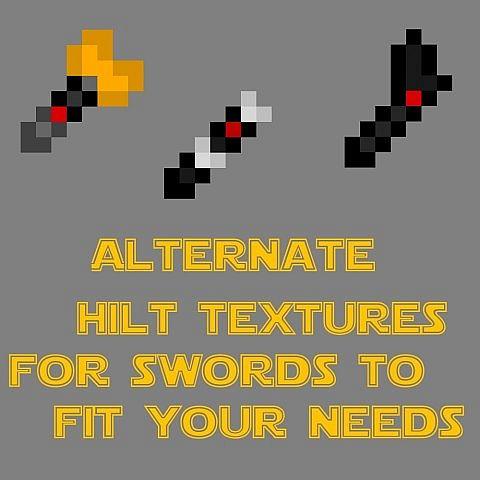 Alternate Sword Hilts!