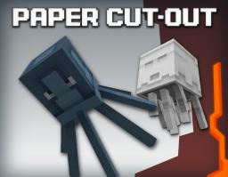 Paper Cut-Out - Minecraft 1.11 Minecraft Texture Pack