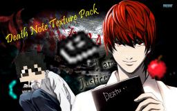Death Note Texture Pack 1.7.8 【16x16】
