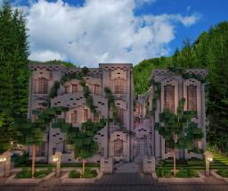 Proudspire | French Chateau | Modern interior Minecraft Project