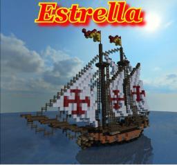 Spanish Schooner: Estrella Minecraft
