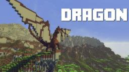 How To Build A Dragon Minecraft Map & Project