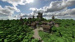 5 Medieval Builds - Pack Minecraft Map & Project