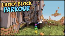 [OUT NOW] Lucky Block Parkour Minecraft Map & Project