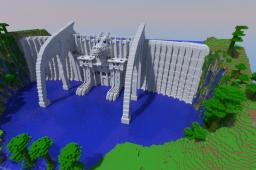 Dragon Dam Minecraft Map & Project