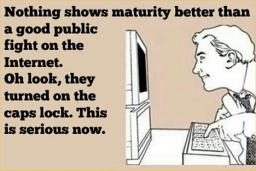 Maturity! Where is it?!?!? ~OMG POP REEL! =D~