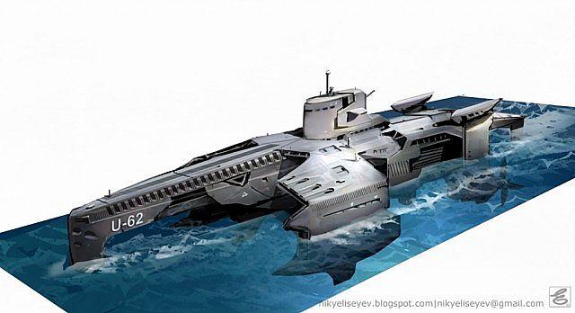 Wallpapers Submarines USS Gato Class Submarine mines Army Image ...
