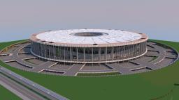 Brazil National Stadium Download (with cinematic video) Minecraft Map & Project