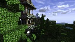 Mt. Puji -realistic volcano(shrine building included) Minecraft Map & Project