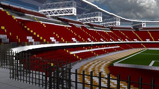 San Paolo Stadium Ssc Napoli Stadium Minecraft Project