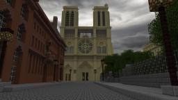 The Pre Haussmann Project: A 1:1 replica of Paris in the 1850's Minecraft Map & Project