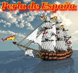Spanish Frigate: Perla de España (Remake) Minecraft