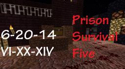 Prison Survival Five: Camp Gunther [WIP] Minecraft Map & Project