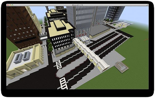 completely redid west street and removed the marriott hotel to remake it