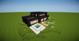 Dominik | A modern strip house Minecraft Map & Project