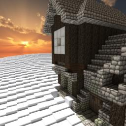 Medieval Snow Cottage Minecraft Map & Project