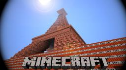 TNT Eiffel Tower Minecraft