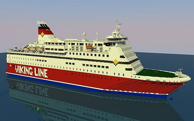 Viking Line M S Gabriella Minecraft Project