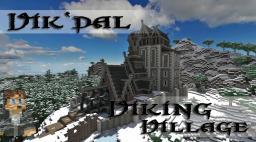 Vik´dal - Vikingvillage Minecraft Map & Project