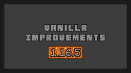 Vanilla Improvements [1.16.5] Minecraft Texture Pack