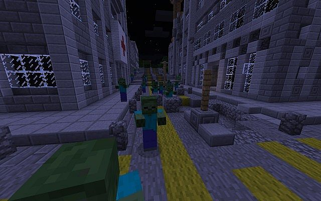 <b>The</b> <b>Walking</b> <b>Dead</b> <b>Map</b> for <b>Minecraft</b> 1.5.1 and 1.5.2