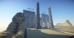 Temple of  Amun-Ra at Luxor Minecraft