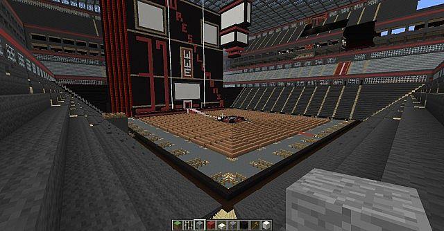 Wwe Stadium, basketball arena, tennis stadium- STADIUM CITY Minecraft Project