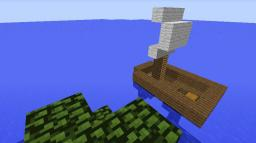 Lost Boat Minecraft Map & Project