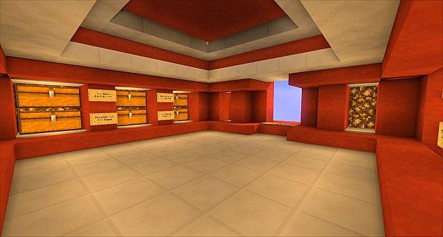 Minecraft Storage Room Red Clay