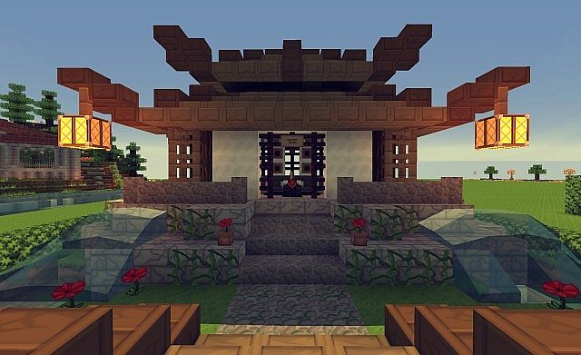 Little Chinese House Minecraft Map