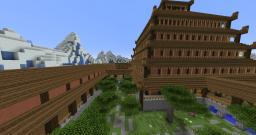 Minecraft - Server Spawn / Hub (Oriental Winter) - DOWNLOAD! Minecraft Map & Project