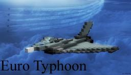 Euro Typhoon - Fighter Jet Minecraft Map & Project