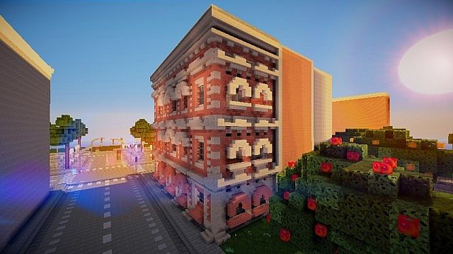 Victorian Townhouse Minecraft Project