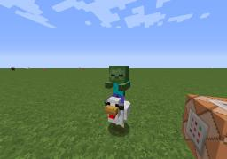 How to spawn a Chicken Jockey in Minecraft! (Vanilla) Minecraft Blog Post